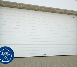 Ворота автоматические подъемные гаражные секционные с торсионными пружинами (RSD02) 2600*2200