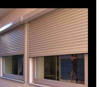 Защитные Рольставни на окна 1200*1300 Дорхан