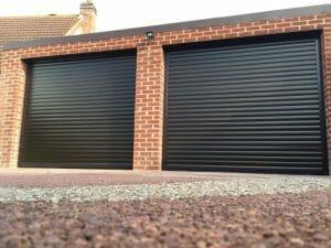 Рольворота в гараж с автоматикой Дорхан 2400*2100 RH45N
