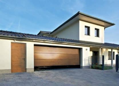 Секционные гаражные ворота Дорхан 4800*2300 с автоматикой