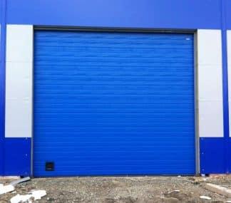 Промышленные ворота секционные из сендвич панелей (ISD01) с автоматикой Дорхан 4600*4500