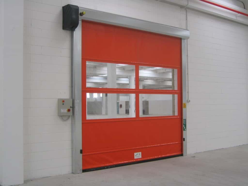 Скоростные рулонные ворота для внутреннего использования серии SpeedRoll SDI 2000*3000