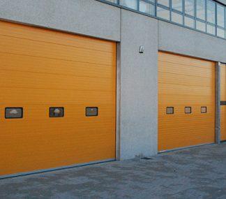 Автоматические ворота для склада 4000*5000