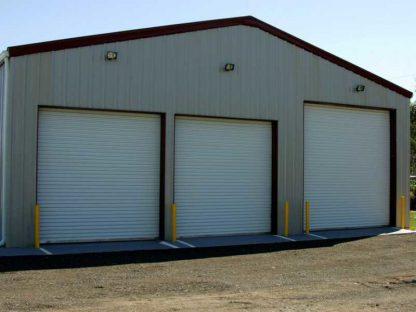 Промышленные ворота секционные из сендвич панелей (ISD01) 3200*3200