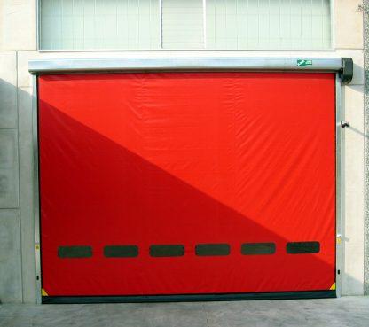 Скоростные рулонные ворота для наружного использования серии SpeedRoll SDO 3700*3800