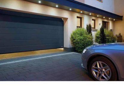 Гаражные Ворота 5500*2200 секционные с торсионными пружинами и приводом