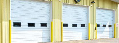 Ворота для склада 3500*3500 с ручным цепным приводом Дорхан