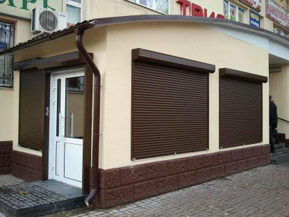 Рольставни на окна Дорхан 1800*1400 RH41N