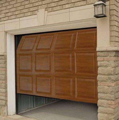 Подъемные гаражные ворота секционные Дорхан 2500*2200 с приводом