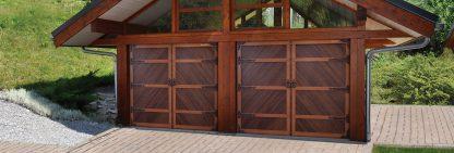 Гаражные секционные ворота Премиум 2500*2500 с автоматикой
