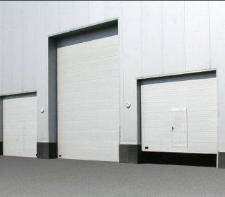 Промышленные ворота секционные (ISD01) 3500*6000 с автоматикой