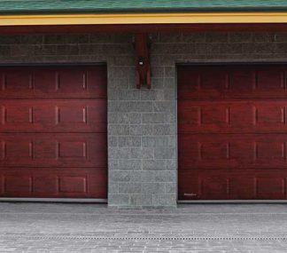 Гаражные секционные подъемные ворота Дорхан 2600*2300