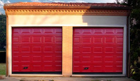 Секционные гаражные подъемные ворота Дорхан 2300*2300