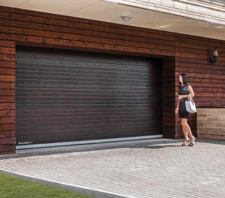 Гаражные подъемные ворота секционные Дорхан 3700*2100 с автоматикой