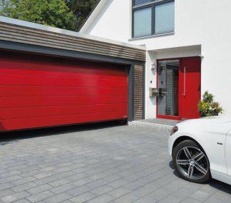 Автоматические секционные ворота в гараж (RSD02) 4400*2250
