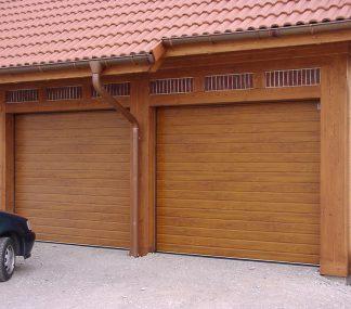 Подъемные секционные ворота (RSD02) 2350*2150