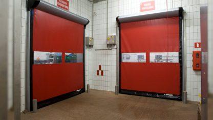 Скоростные рулонные ворота для внутреннего использования в склад 3000*4000