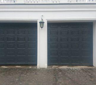 Теплые гаражные ворота с автоматикой 2400*2500