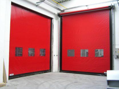 Скоростные рулонные ворота для внутреннего использования на склад 4000*5500