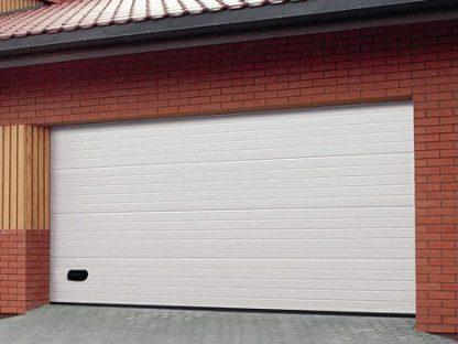 Ворота подъемные гаражные секционные