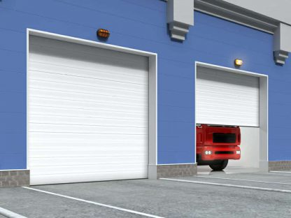 Скоростные ворота для паркинга 4000х3700