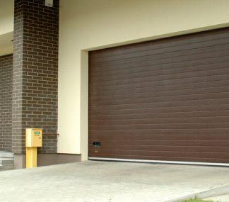 Подъемные секционные ворота для гаража (RSD02) 3300х2300