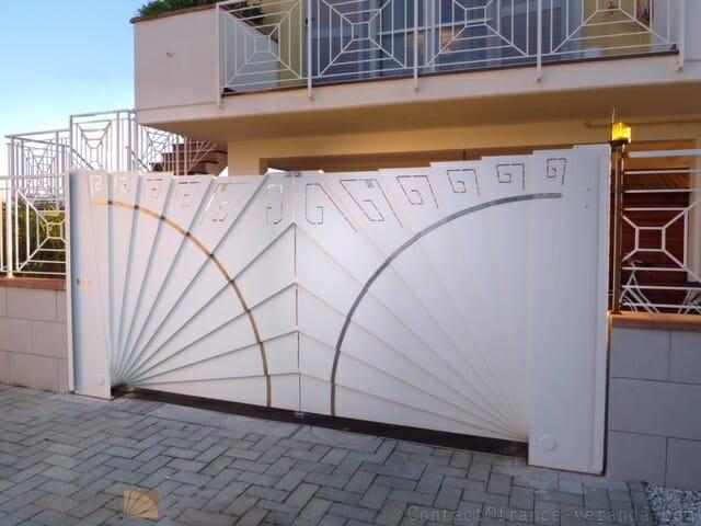 Веерные ворота