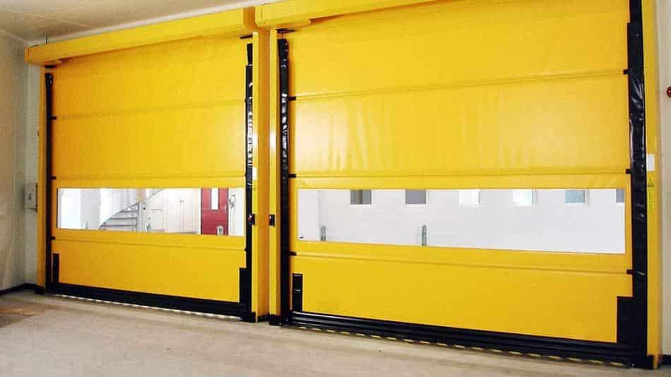 рулонные ворота в паркинг